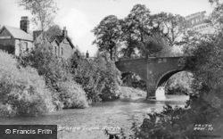 Old Bridge From North c.1955, Baslow