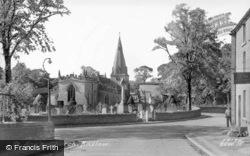 St Ann's Church c.1955, Baslow