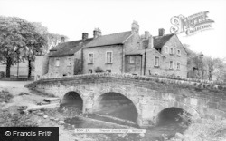 Thatch End Bridge c.1955, Baslow