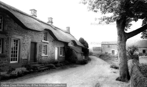 Baslow, Thatch End c1955