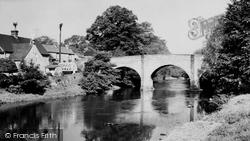 The Toll Bridge c.1955, Baslow