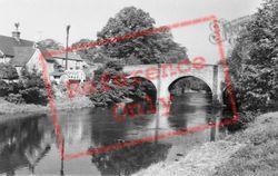 The Toll Bridge c.1961, Baslow