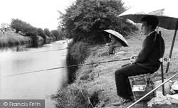 Bason Bridge, Brue River And Merry Lane c.1960