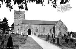 Bassaleg, St Basil's Church c.1955