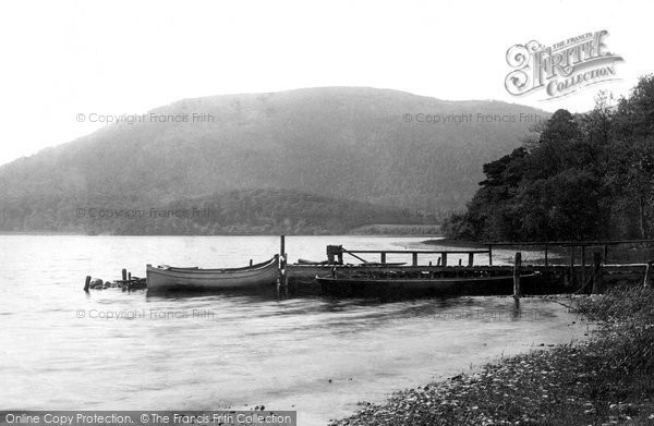 Bassenthwaite, Boats 1889.  (Neg. 22149)  � Copyright The Francis Frith Collection 2008. http://www.francisfrith.com
