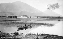 Bassenthwaite, Lake And Skiddaw c.1875