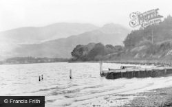 Bassenthwaite, The Lake From The Boat Landing c.1960