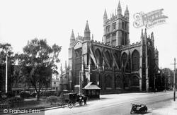 Bath, Abbey 1925