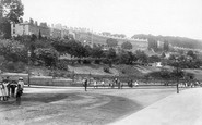 Bath, Camden Crescent And Hedgemead Park 1895