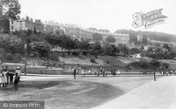 Camden Crescent And Hedgemead Park 1895, Bath