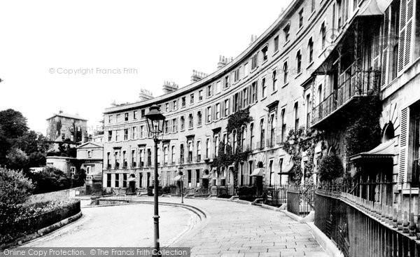 Bath, Cavendish Crescent 1907