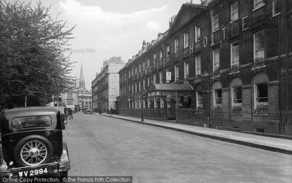 Bath, Francis Hotel 1935