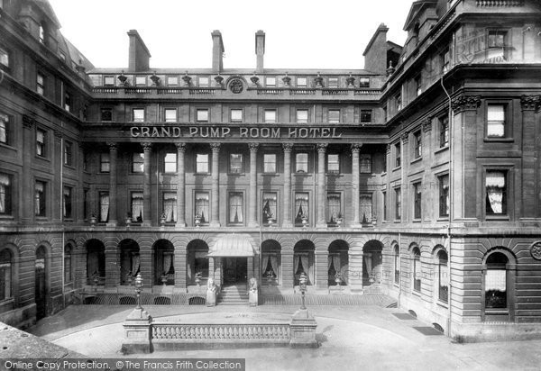 Bath, Grand Pump Room Hotel 1901