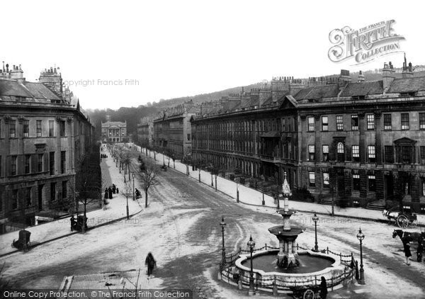 Bath, Great Pulteney Street 1887