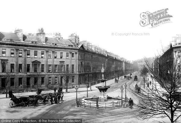 Bath, Great Pulteney Street 1890