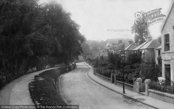 Bath, Lyncombe Road (Daisy Bank) 1895