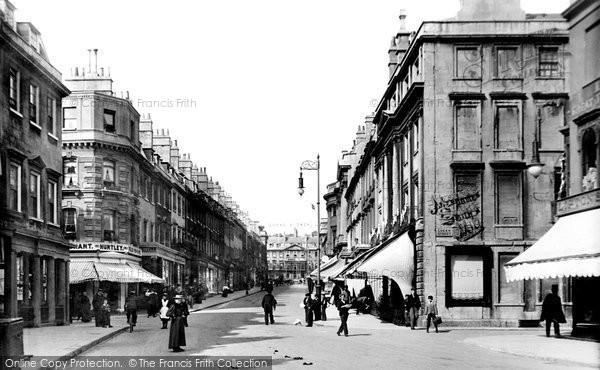Bath, Milsom Street 1895