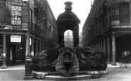 Bath, Mineral Water Fountain 1909