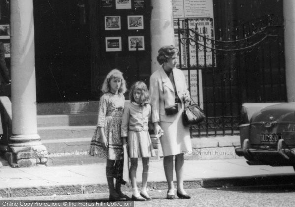 Bath, Mother And Girls c.1965