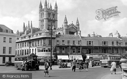 North Parade And Abbey 1949, Bath
