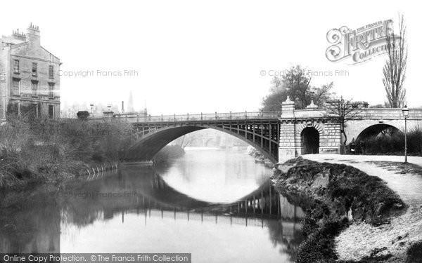 Bath, North Parade Bridge 1887