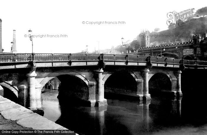 Bath, Old Bridge 1902