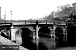 Bath, Old Bridge 1902