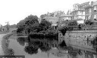 Bath, On The Canal 1895