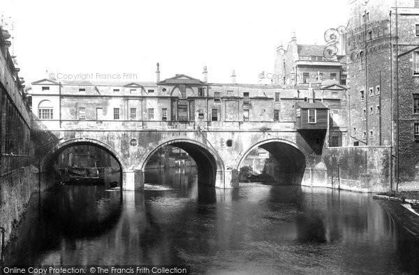 Bath, Pulteney Bridge 1904