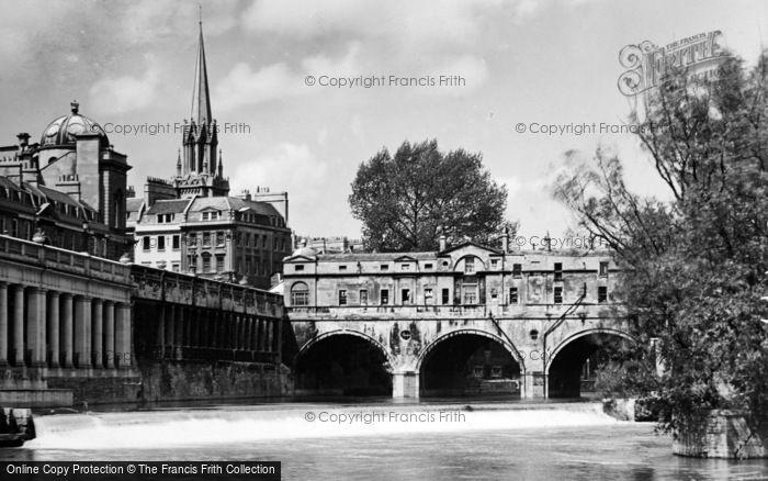 Photo of Bath, Pulteney Bridge 1935