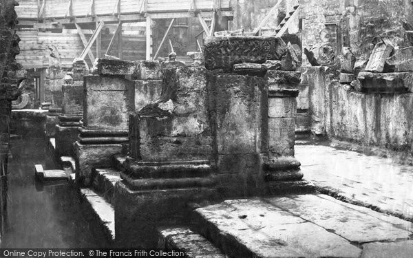 Bath, Roman Baths 1887