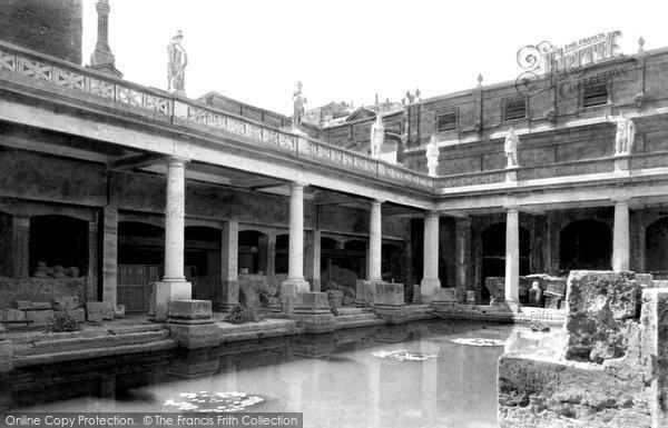 Photo of Bath, Roman Baths 1897