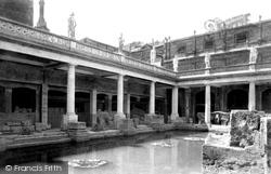 Bath, Roman Baths 1897