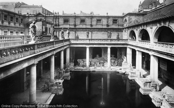 Bath, Roman Baths 1901