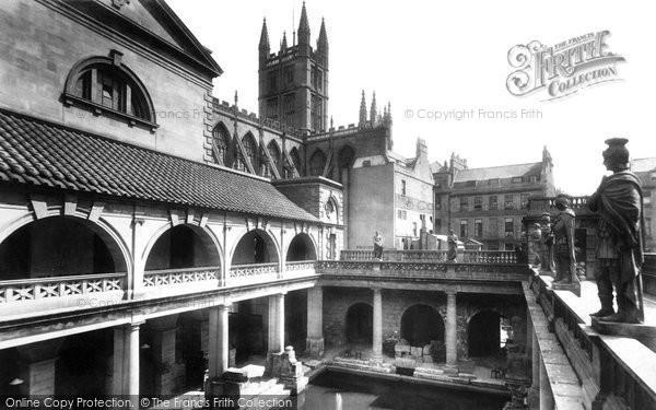 Bath, Roman Baths 1901