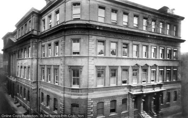 Bath, Royal United Hospital 1901
