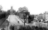 Bath, St Mark's Church And Claverton Street 1895