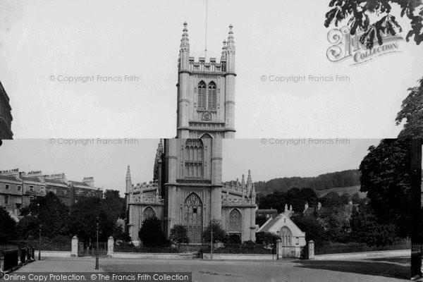 Bath, St Mary's Church 1911