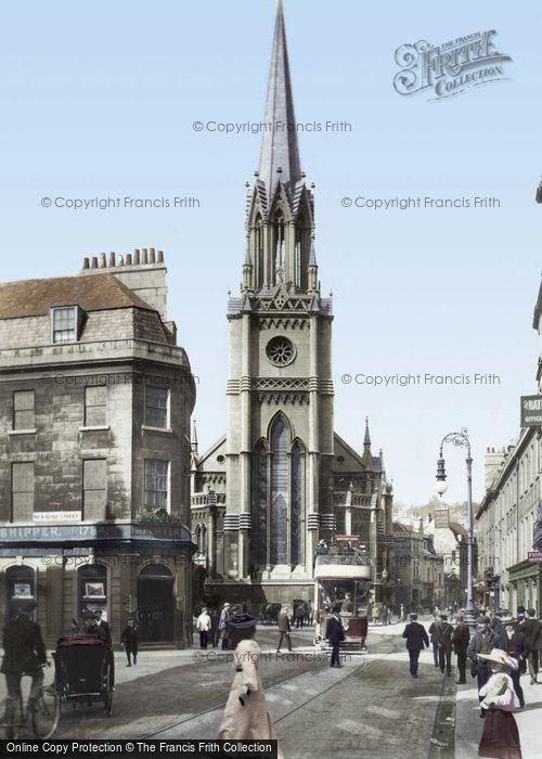 Bath, St Michael's Without 1904