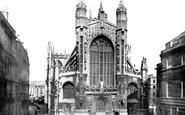 Bath, The Abbey 1887
