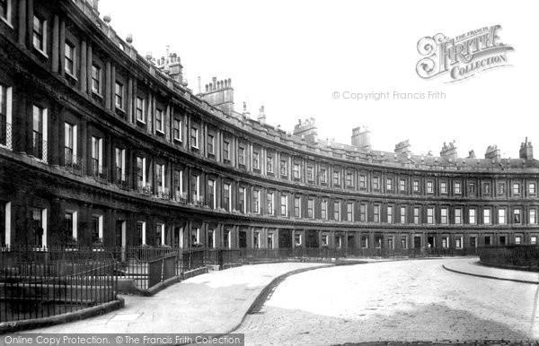 Bath, The Circus 1901