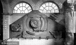 Bath, The Roman Baths, Sculpture From Temple Of Sul-Minerva 1907