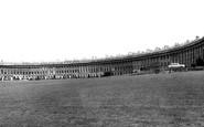 Bath, The Royal Crescent c.1960