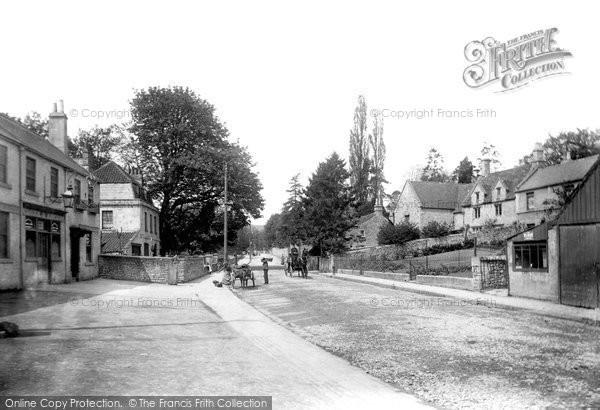Bath, Upper Weston High Street 1907