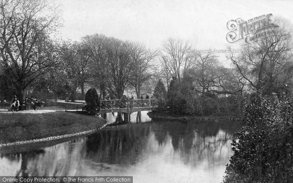 Bath, Victoria Park 1890