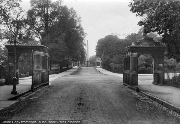 Bath, Victoria Park 1909