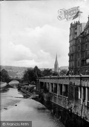 View From Pulteney Bridge 1914, Bath