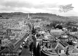 View From The Abbey 1929, Bath