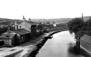 Bath, View From Warminster Road Bridge 1914