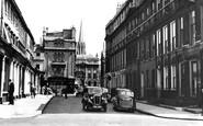Bath, Wood Street c.1950